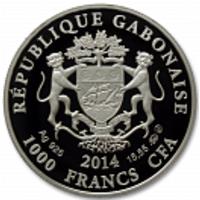 Аверс монеты «Близнецы-14»