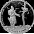 Монета Охотник и змея